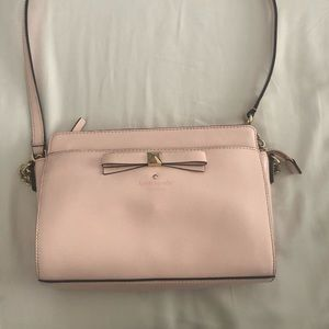 Kate Spade patent leather bow crossbody